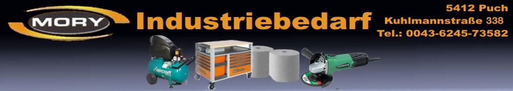Mory Industriebedarf - Werkzeuge-Maschinen-Schleifmittel-Arbeitsschutz-Drucklufttechnik